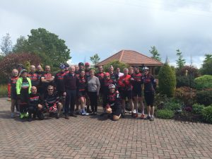 Tea and Scones at Clarkes fruit farm- Training hard for the Epic Spin